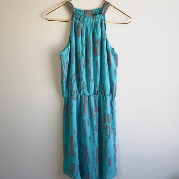 c4c5c915662 AQUA NWT Summer Halter Tank Dress Bloomingdales XS